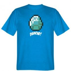 Футболка Minecraft Diamond!