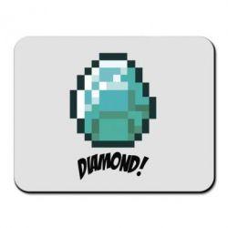 Коврик для мыши Minecraft Diamond!