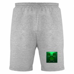 Мужские шорты Minecraft Face - FatLine