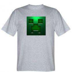 Мужская футболка Minecraft Face - FatLine