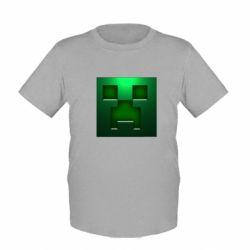 Детская футболка Minecraft Face - FatLine