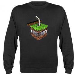 Реглан Minecraft Logo Сube