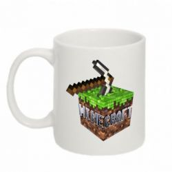Кружка 320ml Minecraft Logo Сube