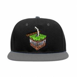Снепбек Minecraft Logo Сube