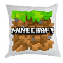 Подушка Minecraft Main Logo - FatLine