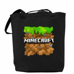 Сумка Minecraft Main Logo - FatLine