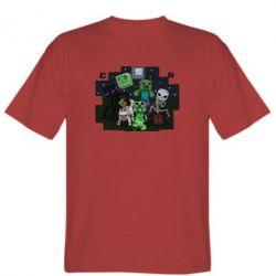 Мужская футболка Minecraft Party - FatLine
