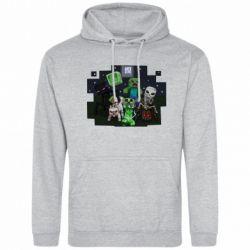 Мужская толстовка Minecraft Party - FatLine