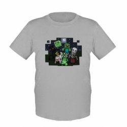 Детская футболка Minecraft Party - FatLine