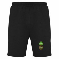 Мужские шорты Minecraft Steve - FatLine