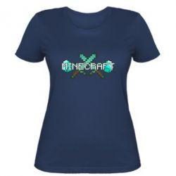 Женская футболка Minecraft - FatLine