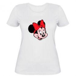 Женская футболка Минни Маус - FatLine