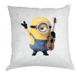 Подушка Миньон с гитарой