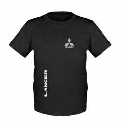 Детская футболка Mitsubishi Lancer - FatLine