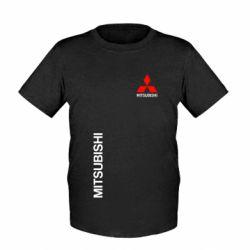 Детская футболка Mitsubishi Motors logo - FatLine