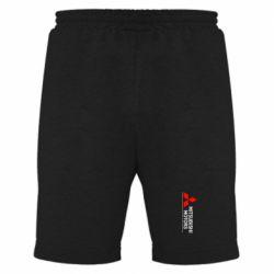 Мужские шорты Mitsubishi Motors лого - FatLine