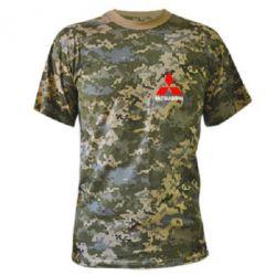 Камуфляжная футболка Mitsubishi small - FatLine
