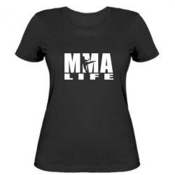Женская футболка MMA Life - FatLine