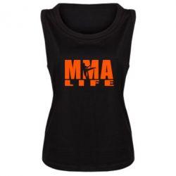 Женская майка MMA Life - FatLine