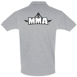 Футболка Поло MMA Pattern - FatLine