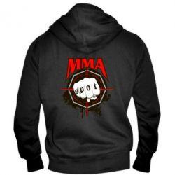 Мужская толстовка на молнии MMA Spot - FatLine