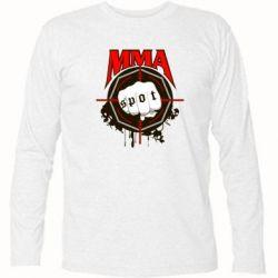 Футболка с длинным рукавом MMA Spot - FatLine