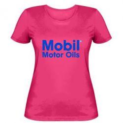 Женская Mobil Motor Oils - FatLine