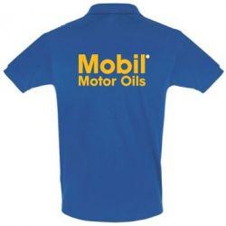 Футболка Поло Mobil Motor Oils - FatLine