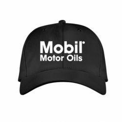 Детская кепка Mobil Motor Oils - FatLine