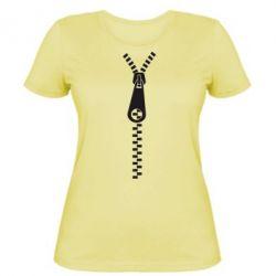 Женская футболка Молния - FatLine