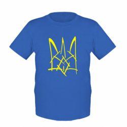 """Детская футболка """"Молодіжний герб"""" - FatLine"""
