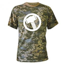 Камуфляжная футболка Молот Тора