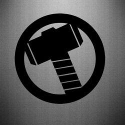 Наклейка Молот Тора - FatLine
