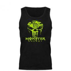 Мужская майка Monster Energy Череп - FatLine