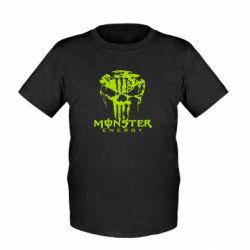 Детская футболка Monster Energy Череп - FatLine