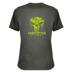 Камуфляжная футболка Monster Energy Череп - FatLine