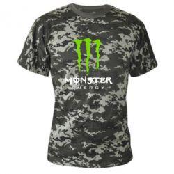Камуфляжная футболка Monster Energy Classic - FatLine