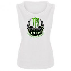 Женская майка Monster Energy Cup - FatLine