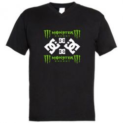 ������� ��������  � V-�������� ������� Monster Energy DC Logo - FatLine