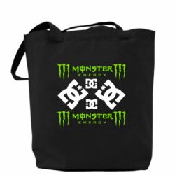 ����� Monster Energy DC Logo - FatLine