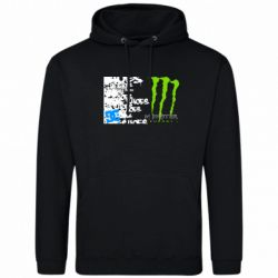 Толстовка Monster Energy DC Shoes - FatLine