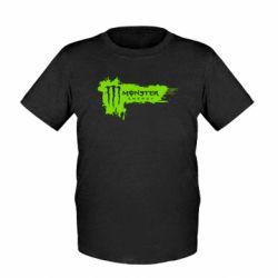 Детская футболка Monster Energy Drink - FatLine
