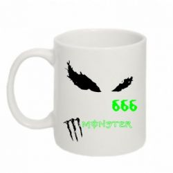 Кружка 320ml Monster Energy Eyes 666