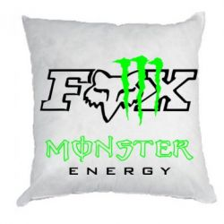 Подушка Monster Energy Fox Logo - FatLine