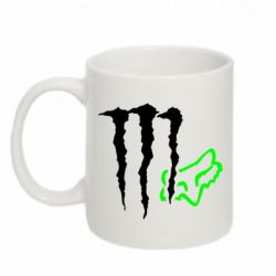 Кружка 320ml Monster Energy FoX