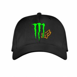 Детская кепка Monster Energy FoX - FatLine