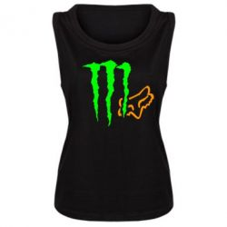Женская майка Monster Energy FoX - FatLine