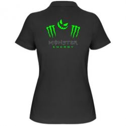 Женская футболка поло Monster Energy Halloween - FatLine