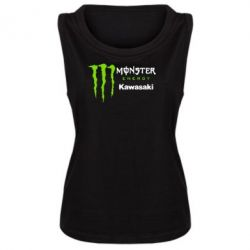 Женская майка Monster Energy Kawasaki - FatLine