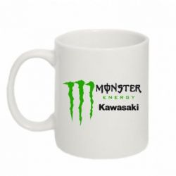 Кружка 320ml Monster Energy Kawasaki - FatLine